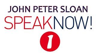 John Peter Sloan in Speak Now! 1/20