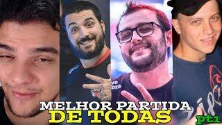 A MELHOR PARTIDA DE TODAS - LEKO STREAM FT ( PATO PAPÃO , BRTT , AXT , RIYEV ) pt  (1/2)
