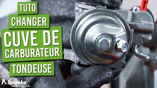 Comment changer la cuve de carburateur d'une tondeuse