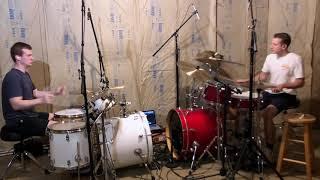 Marshmello ft. Bastille - Happier (Dual Drum Cover)