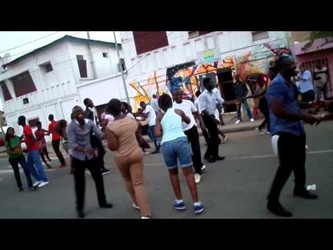 Salsa de rue - Lomé - 30 mai 2015