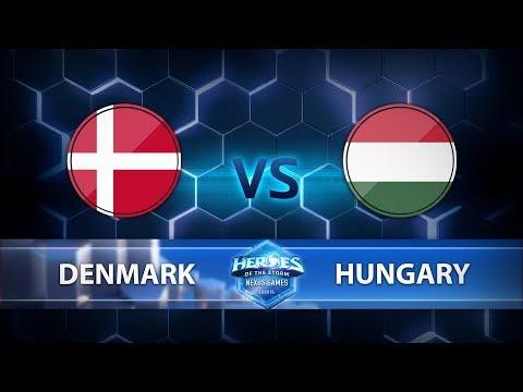 Nexus Games Europe - Group B Match 2 – Denmark vs. Hungary - Game 1