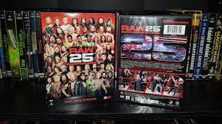 WWE Raw 25th Anniversary DVD Review & Match Listing