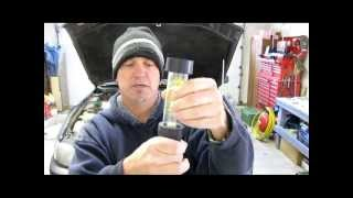 Blue Devil Headgasket Sealant vs. Napa Block Tester Pt 1 of 2