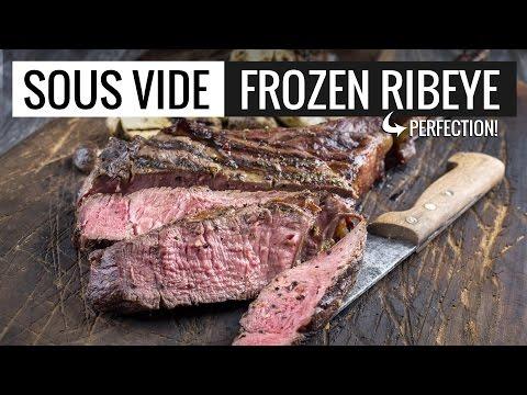 Sous Vide Frozen RibEye Perfection - Perfect Rib Eye Steak by Sous Vide Everything