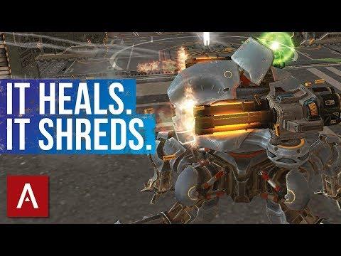 War Robots: Weyland Avengers MK2 Gameplay | Healing Robot That SHREDS!