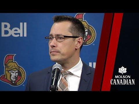 Sens vs. Blackhawks - Coach Post-game