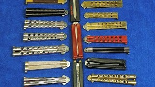 Balisong / Butterfly Knife Collection - Retro Knives
