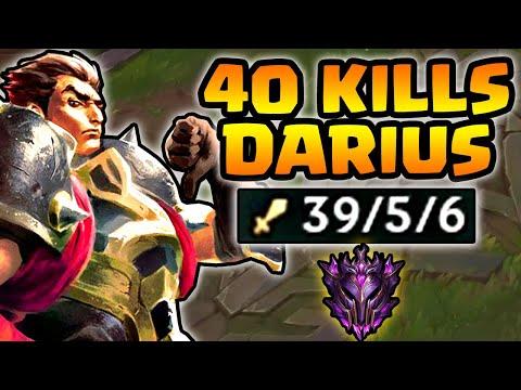 40 KILLS DARIUS - HOW TO WIN 10/10 PLACEMENT SEASON 10!! LoL