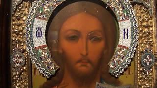 Выставка в Храме Христа Спасителя ч. 1.  Шедевры обрамления русской иконы