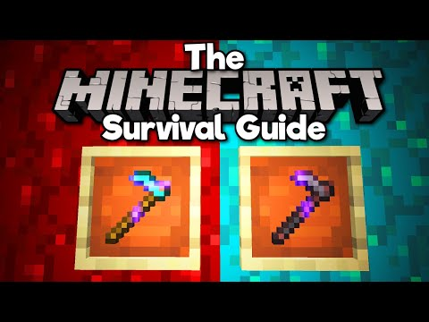 Hoes and Walls are now AWESOME! ▫ The Minecraft Survival Guide (Tutorial Lets Play) [Part 312]