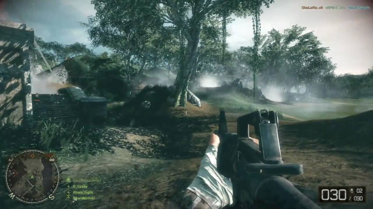 Battlefield Bad Company 2 Vietnam Gameplay With Commentary