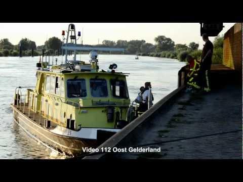 Zoekactie naar persoon op de IJssel bij Zutphen