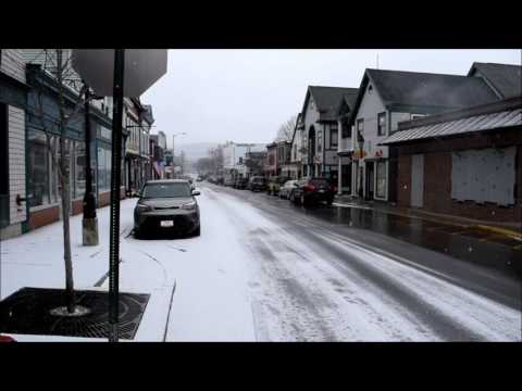 Bar Harbor, ME video tour with a stop at Eagle Lake