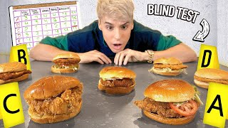 i tested POPEYES vs. all CHICKEN SANDWICHES in america