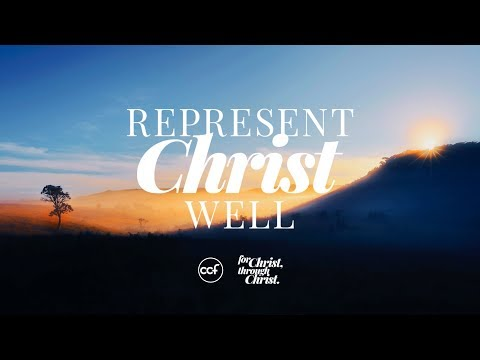 Special Message - Represent Christ Well - Ricky Sarthou