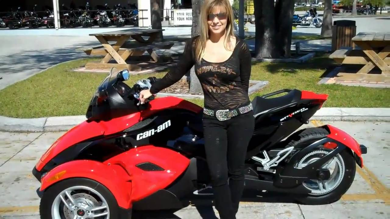 2010 can am spyder rs trike youtube. Black Bedroom Furniture Sets. Home Design Ideas