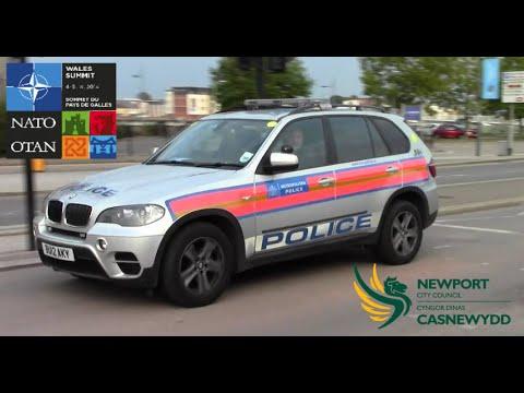 NATO Summit - Dynamic Policing of Newport, Wales