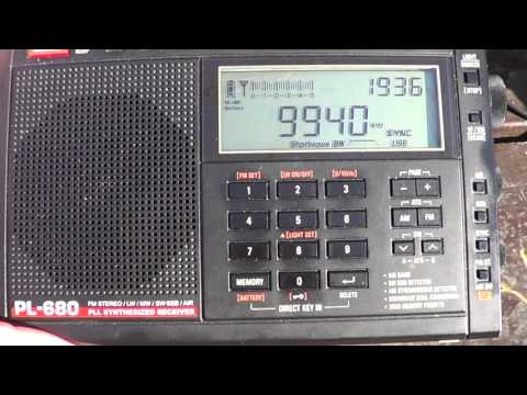 Trans World Radio Swaziland in French 9940 Khz Shortwave