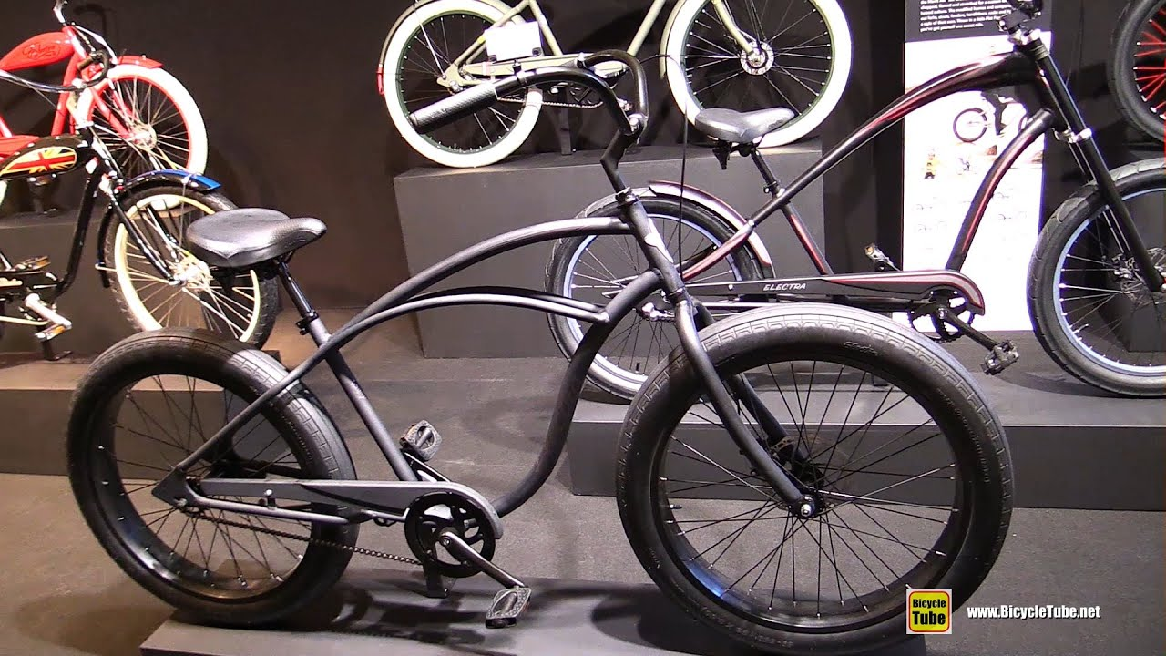 2016 Electra Cruiser Lux Fat Tire Bike Walkaround 2015