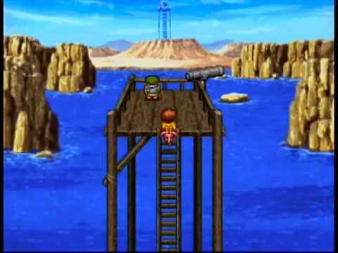 Lunar 2 Eternal Blue playthrough - Sega saturn 01/ The Blue Tower