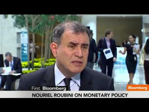 When to Expect the Next US Economic Crash: Bloomberg - Nouriel Roubini