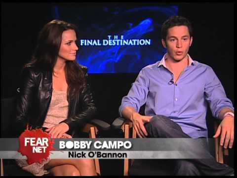 The Cast of 'The Final Destination' Interviews