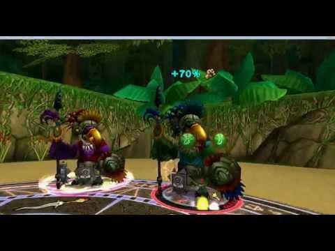 Wizard101 yak Long count boss & quest for Quetzel eggs part 1