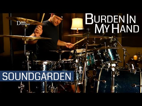 Soundgarden Burden In My Hand Drum Cover (High Quality Audio) ⚫⚫⚫