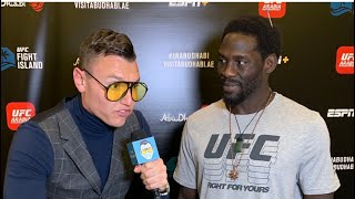 Jared Cannonier Chiseled To The Bone UFC 254