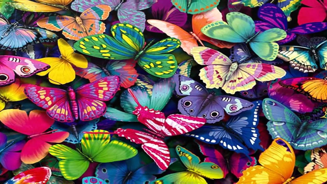 Animated Jungle Wallpaper Butterfly Wallpaper Fantastic Hd Youtube