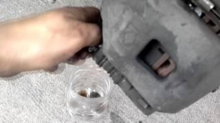mecanica cambio de liga de caliper o mordaza (tsuru nissan 98)