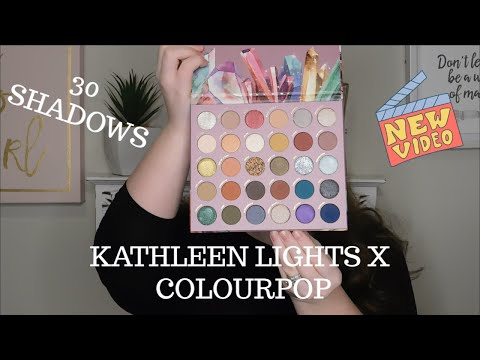 KATHLEEN LIGHTS X COLOURPOP SO JADED PALETTE: SWATCHES AND REVIEW thumbnail