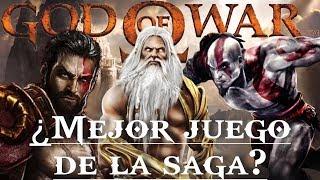 God of War || TOP - ¿Cuál es el mejor juego de la saga?