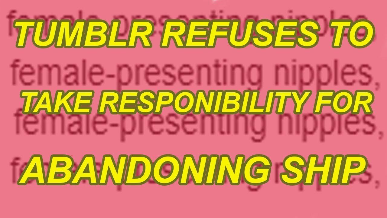 Tumblr Refuses to Take Responsibility for Pr0n Bots Running Wild, Bans Pr0n Instead 1