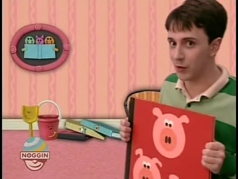 Blue's Clues 01x04 Blue's Story Time - YouTube