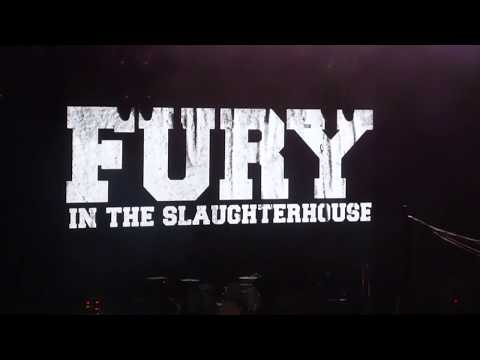 Fury In The Slaughterhouse - Time To Wonder - Loreley 18.8.18