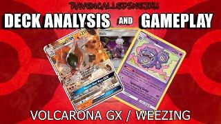 Volcarona GX / Weezing deck analysis, profile and gameplay (Pokemon TCG Online)