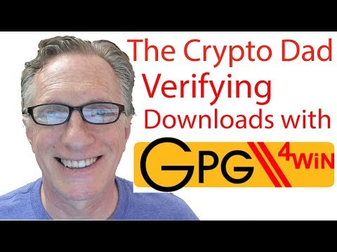 How to verify software downloads with a cryptographic signat