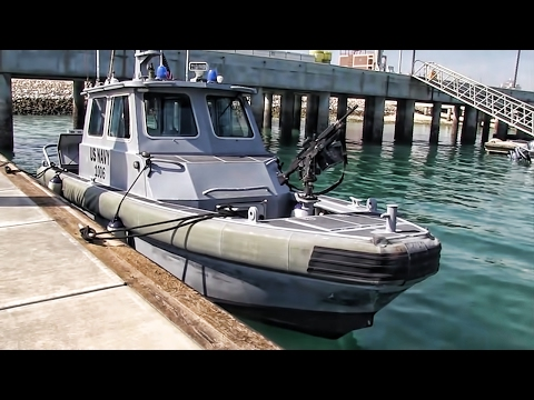 U.S. Navy Harbor Patrol • Naval Support Activity Bahrain