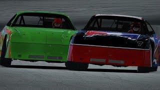 Intense Last Lap Battle For The Win | iRacing Street Stocks @ USA International Speedway