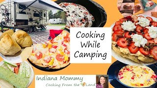 Cooking While Camping aт Prophetstown State Park in Indiana - Fun Family Camping & What We Ate