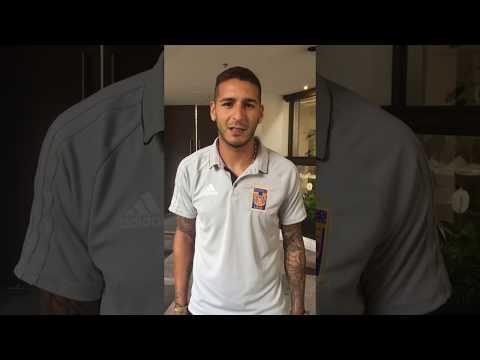 Saludos de Ismael Sosa a la afición Tigres HD