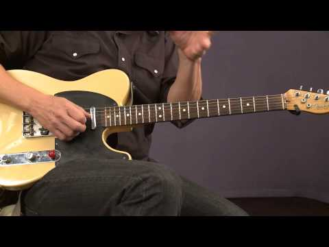 Blues Guitar Lessons with Keith Wyatt: String Bending