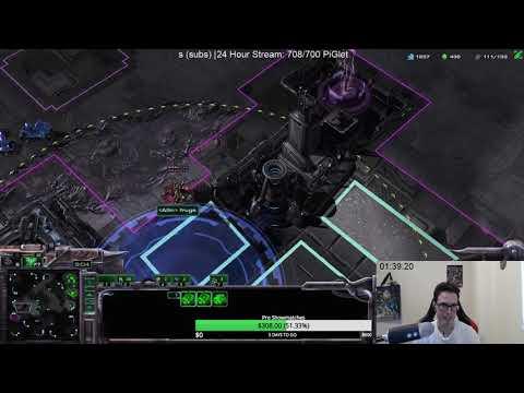 100 APM Terran Play - Holding a Rush!