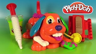 Pâte à modeler Le vétérinaire Play Doh Doggy Doctor Docteur la Peluche