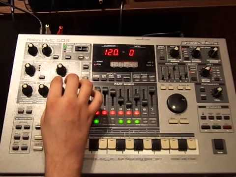 Old school deep house on roland mc 505 2 youtube for Old deep house