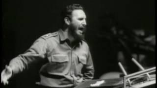 Выступления Фиделя Кастро в ООН - архив кинохроники