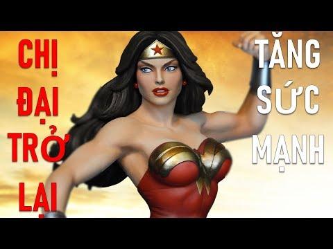Wonder Women trở lại Tanker mà 1 Chiêu 27% máu tướng địch