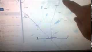 Yahoo Maps Fail Oakhurst, California May 2014
